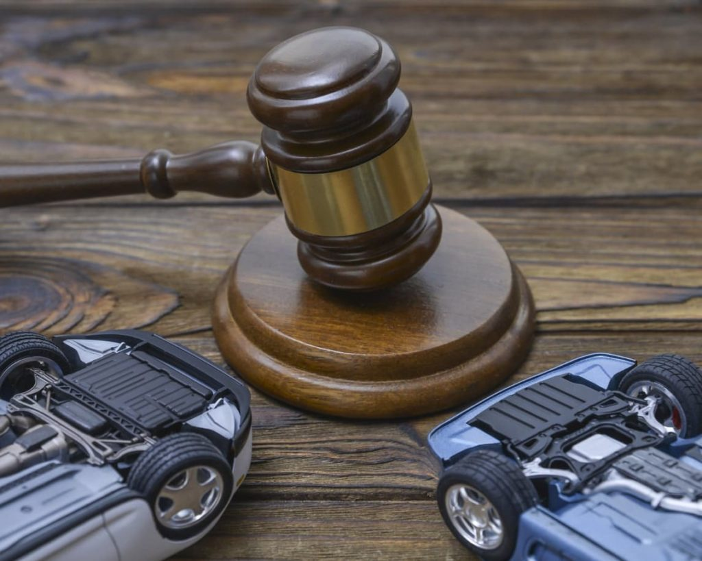 Car accident court case
